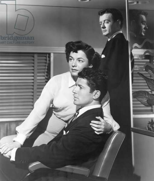 Ruth Roman, Farley Granger And Robert Walker.