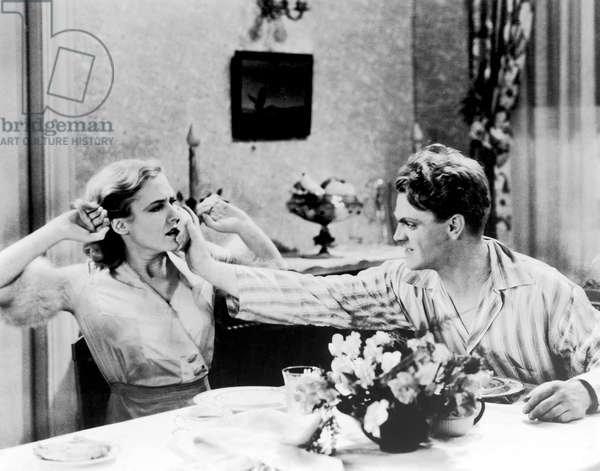 Mae Clarke And James Cagney