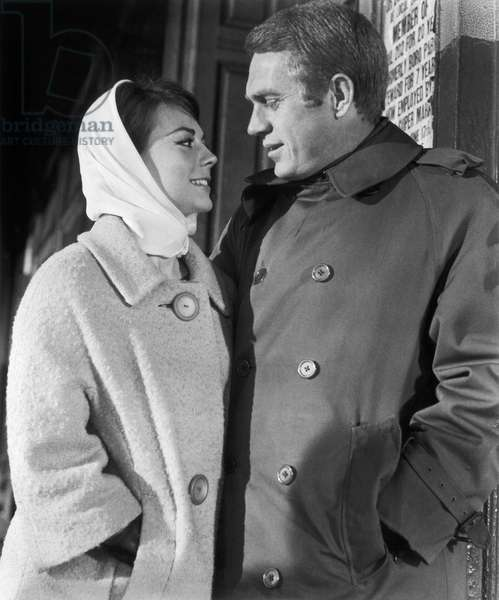 , 1963 --- American actors Natalie Wood and Steve McQueen in the, 1963 film