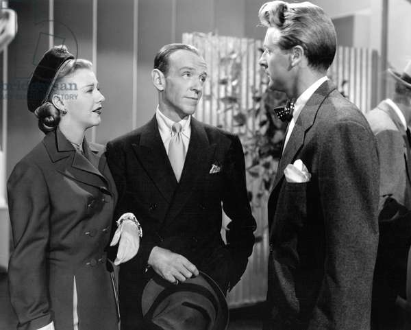 Ginger Rogers, Fred Astaire And Jacques Francois., The Barkleys Of Broadway 1949 Directed By Charles Walters