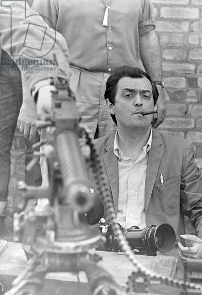 On The Set, Stanley Kubrick