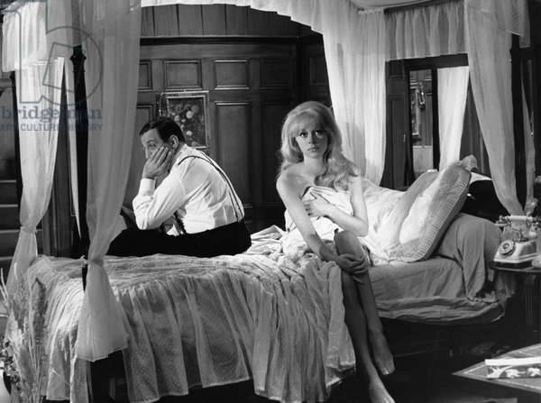 Lino Ventura And Mireille Darc, Les Barbouzes 1964 Directed By Georges Lautner