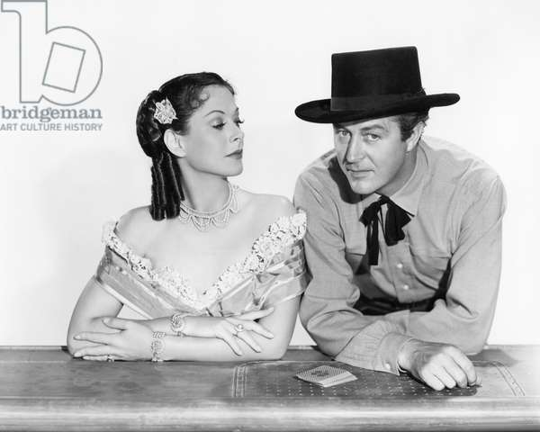 Hedy Lamarr And Ray Milland, Cooper Canyon 1950 Directed By John Farrow