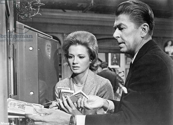 Angie Dickinson And Ronald Reagan