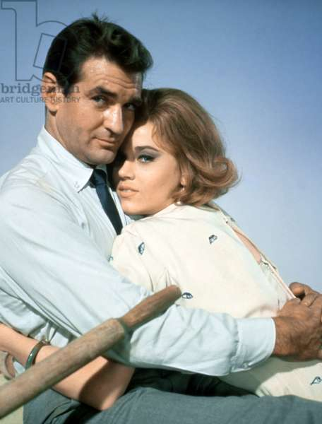 Rod Taylor and Jane Fonda - Sunday in New York - Un dimanche à New York 1963 directed by Peter Tewksbury (photo);Metro-Goldwyn-Mayer Pictures