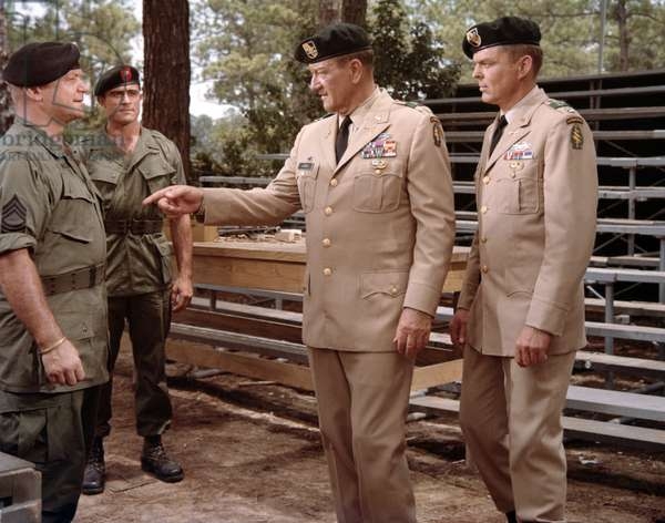 Aldo Ray, Mike Henry, John Wayne And Jim Hutton.