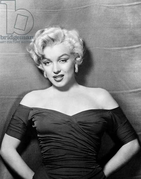 Marilyn Monroe 1952 L.A. California