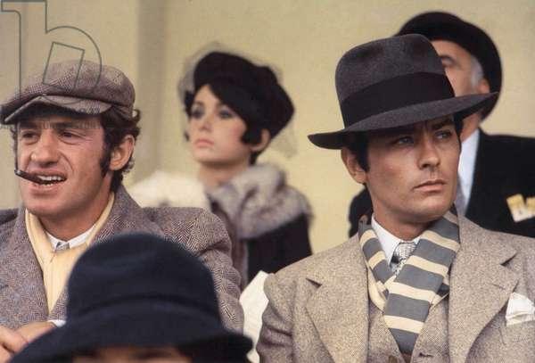 Jean-Paul Belmondo And Alain Delon, Borsalino 1970 Directed By Jacques Deray