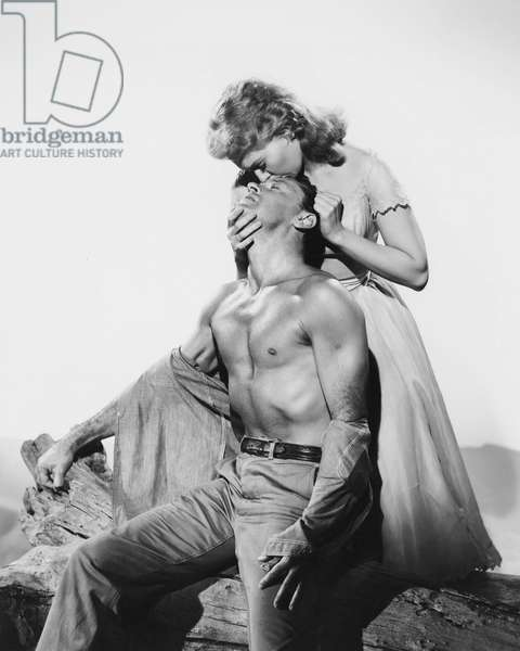William Holden And Kim Novak