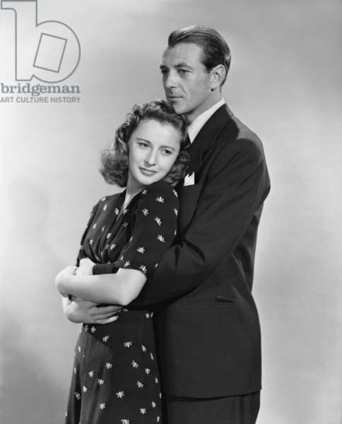 Gary Cooper As John Willoughby And Barbara Stanwyck As Ann Mitchell In 'Meet John Doe', Directed By Frank Capra.