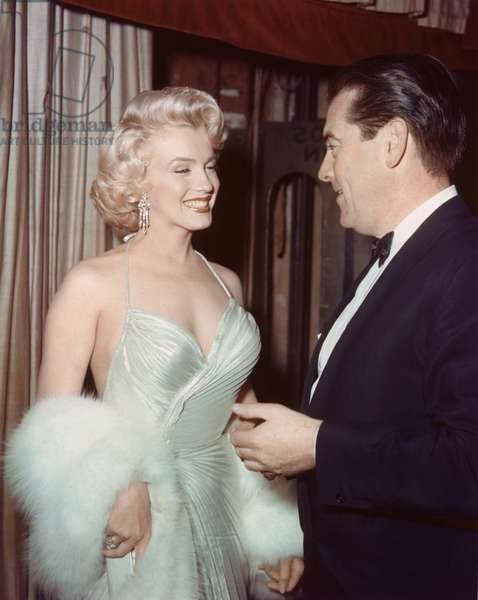 MARILYN MONROE, 1953 California USA Hollywood Party, 1953 (photo)