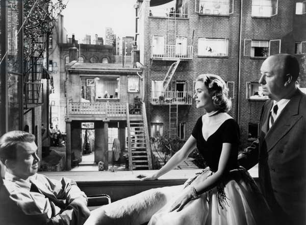 Rear Window (aka Fenetre Sur Cour) Directed By Alfred Hitchcock, 1954