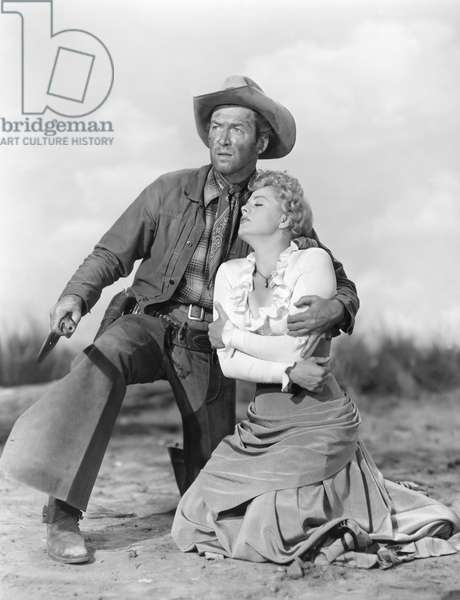 James Stewart And Shelley Winters, Winchester 73 1950 Directed By Anthony Mann