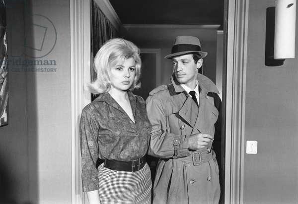 Monique Hennesy And Jean-Paul Belmondo, Le Doulos 1963 De Jean Pierre Melville