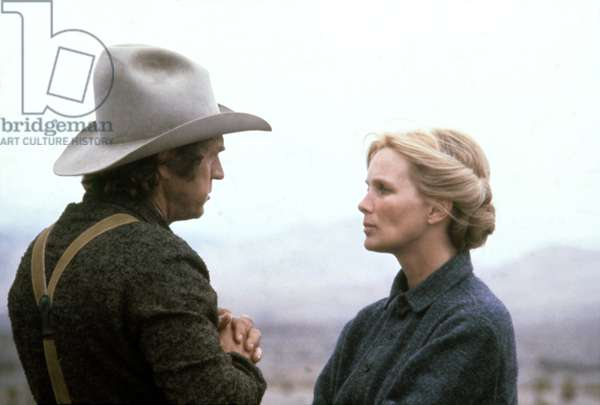 Steve Mcqueen And Linda Evans, Tom Horn 1980 Directed By William Wiard