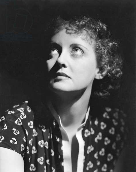 Bette Davis, Dark Victory 1939 Directed By Edmund Goulding
