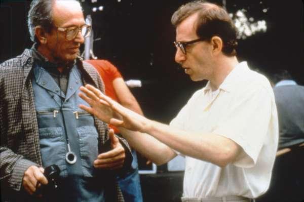 On The Set, Woody Allen, Director.
