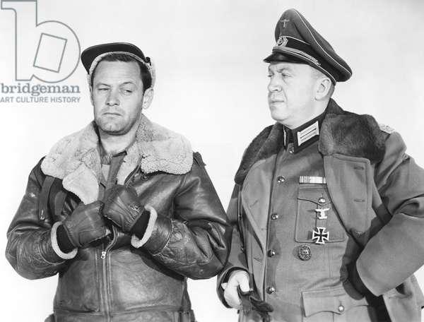 William Holden And Otto Preminger.
