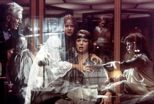 Max Von Sydow, Linda Blair And Louise Fletcher.