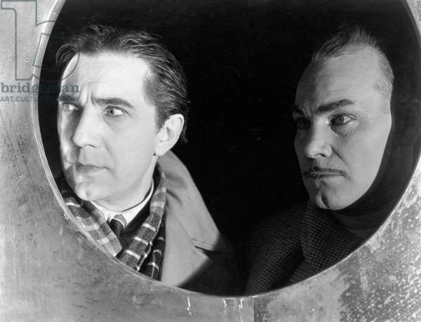 Bela Lugosi And Paul Panzer, The Black Cat 1934 Directed By Edgar Ulmer