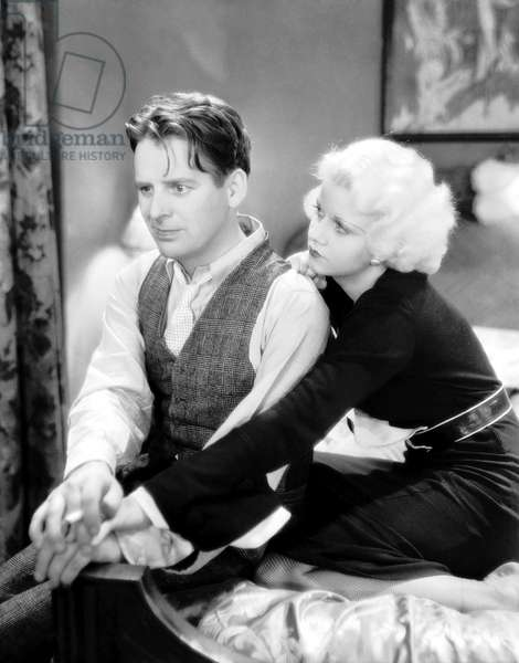 Wallace Ford And Jean Harlow, Beast Of The City 1932 Directed By Charles Brabin