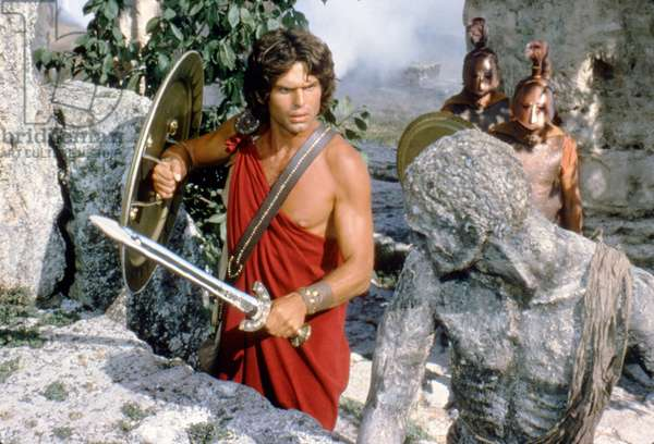 CLASH OF THE TITANS, 1981 directed by DESMOND DAVIS Harry Hamlin (photo)