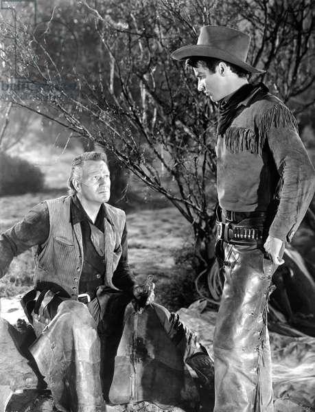John Wayne And Montgomery Clift