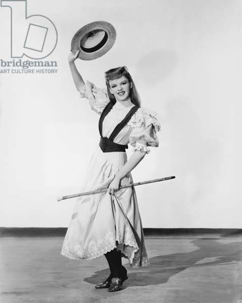 Judy Garland Dances With Straw Hat & Cane Le chant du Missouri