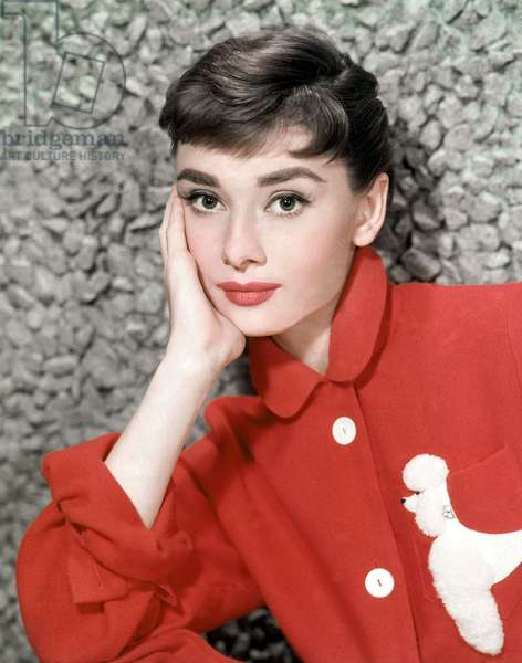 Audrey Hepburn in 'Sabrina' directed by Billy Wilder, 1954 (photo)
