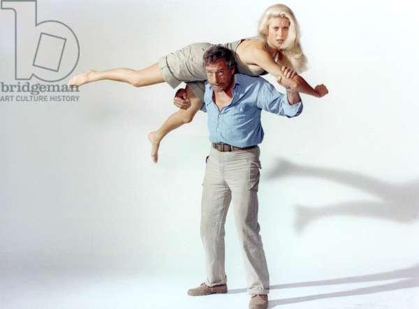 Catherine Deneuve And Yves Montand