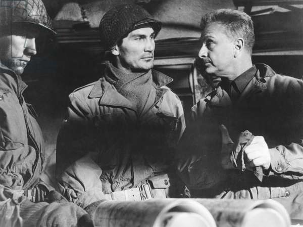 Jack Palance And Eddie Albert, Attack ! 1956 Directed By Robert Aldrich