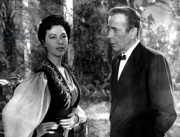 Ava Gardner And Humphrey Bogart, The Barefoot Contessa 1954 Directed By Joseph L. Mankiewicz