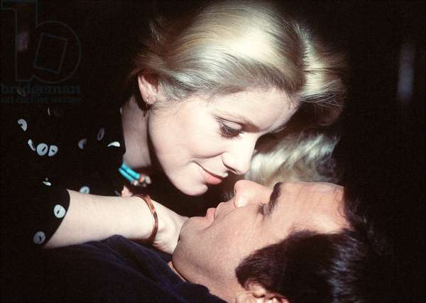 Catherine Deneuve And Burt Reynolds