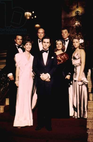 Tony Curtis, Ray Milland, Robert De Niro, Jeanne Moreau, Robert Mitchum And Theresa Russell.