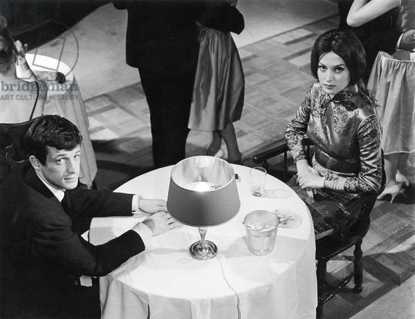 Jean-Paul Belmondo And Fabienne Dali, Le Doulos 1963 Directed By Jean Pierre Melville