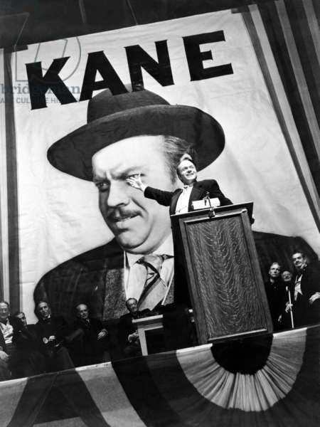Orson Welles, Citizen Kane 1941 Directed By Orson Wells