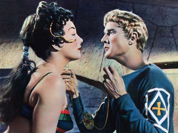 Gianna Maria Canale And Georges Marchal, Theodora Imperatrice De Byzance 1954 Directed By Ricardo Freda