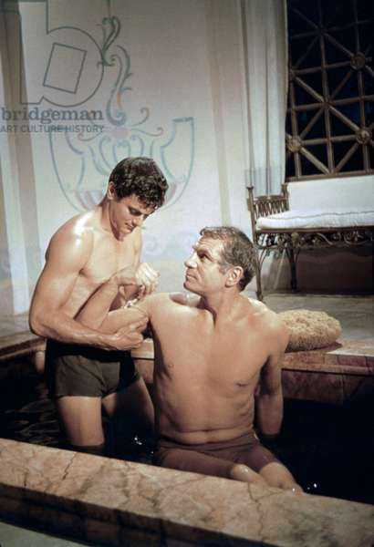 Tony Curtis And Laurence Olivier
