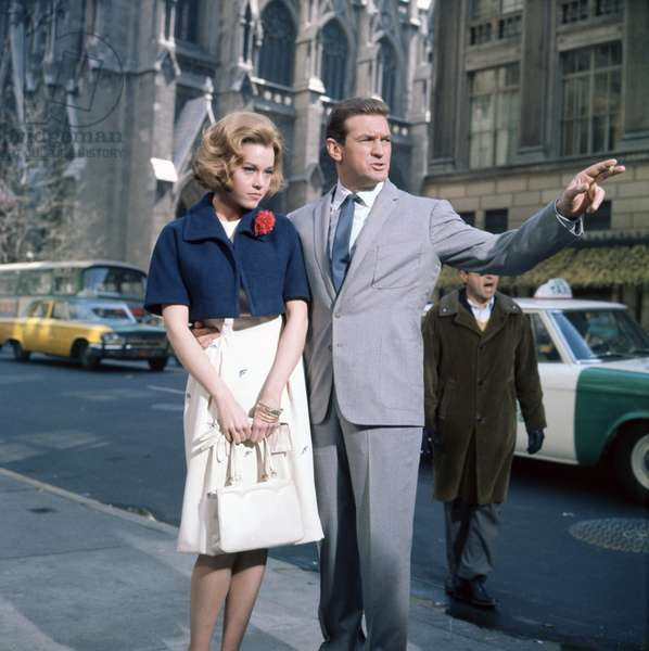 Jane Fonda and Rod Taylor - Sunday in New York - Un dimanche à New York 1963 directed by Peter Tewksbury;Metro-Goldwyn-Mayer Pictures