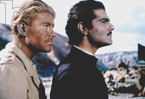 Peter O'Toole And Omar Sharif
