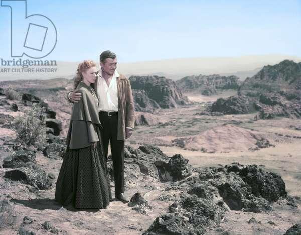 Eleonor Parker And Clark Gable