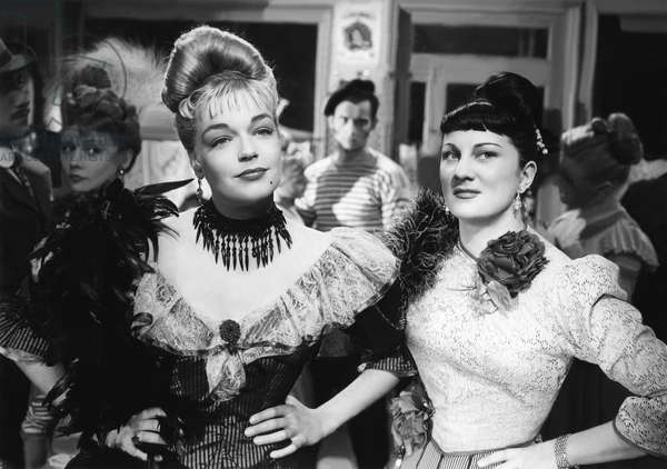 Simone Signoret And Dominique Davray, Casque D'Or 1951 Directed By Jacques Becker