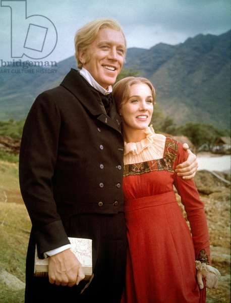 Max Von Sydow And Julie Andrews