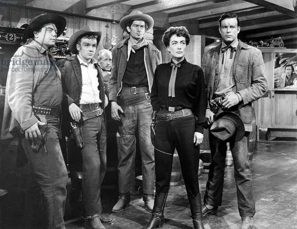 Ernest Borgnine, Ben Cooper, Royal Dano, Joan Crawford And Scott Brady