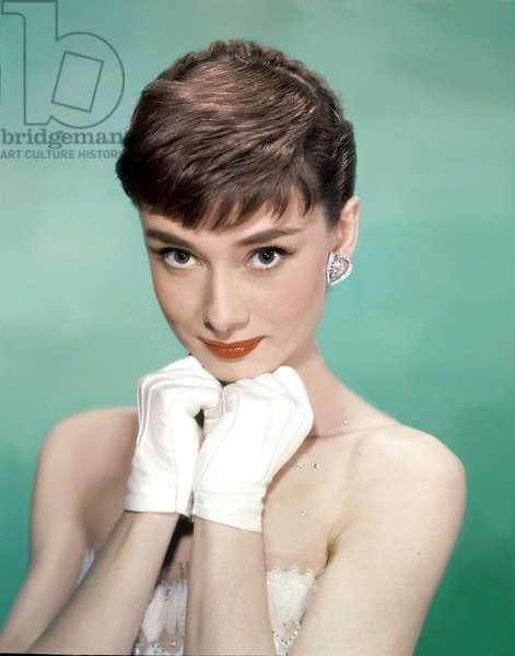Audrey Hepburn in 'Sabrina' directed by Billy Wilder, 1954 (photo)