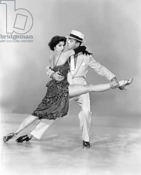 Cyd Charisse And Fred Astaire, The Band Wagon 1953 Directed By Vincente Minnelli