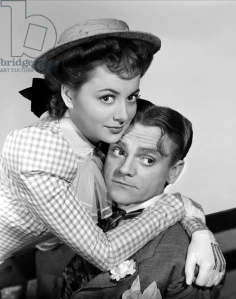 Olivia De Havilland And James Cagney, The Strawberry Blonde 1941 Directed By Raoul Walsh