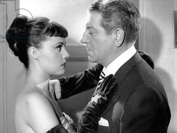 Jeanne Moreau And Jean Gabin, Touchez Pas Au Grisbi 1953 Directed By Jacques Becker