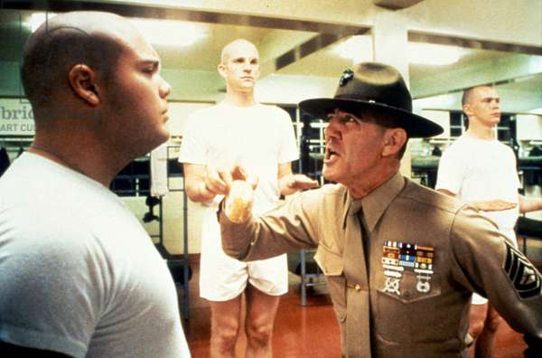 Vincent D'Onofrio, Matthew Modine And R.Lee Ermey.