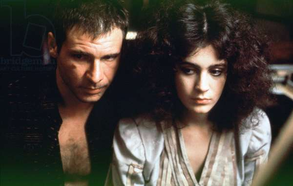 Harrison Ford And Sean Young, Blade Runner 1981 Directed By Ridley Scott
